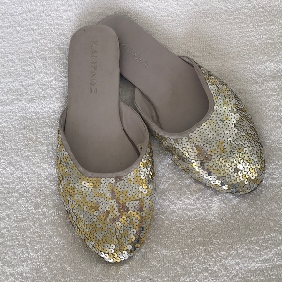 Rampage Shoes - Rampage Sequins Slip-on Flats